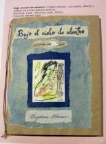 Bajo el cielo de adentro / Digdora Alonso ; con diseño, dibujos y viñetas del artista Rolando Estévez. Matanzas, Cuba : Ediciones Vigía, 1994?]. Colección del San Juan